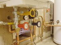 Boiler installation for a Crosby Nursing Home
